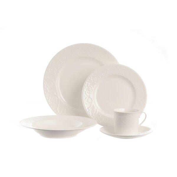 Riviera 20 Piece Dinnerware Set, Service for 4 by Red Vanilla