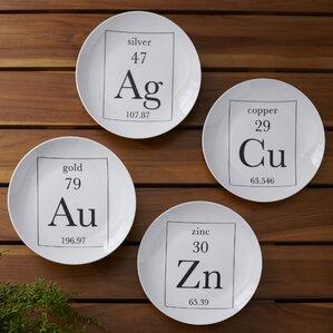 Carrollton Element Plate (Set of 4)