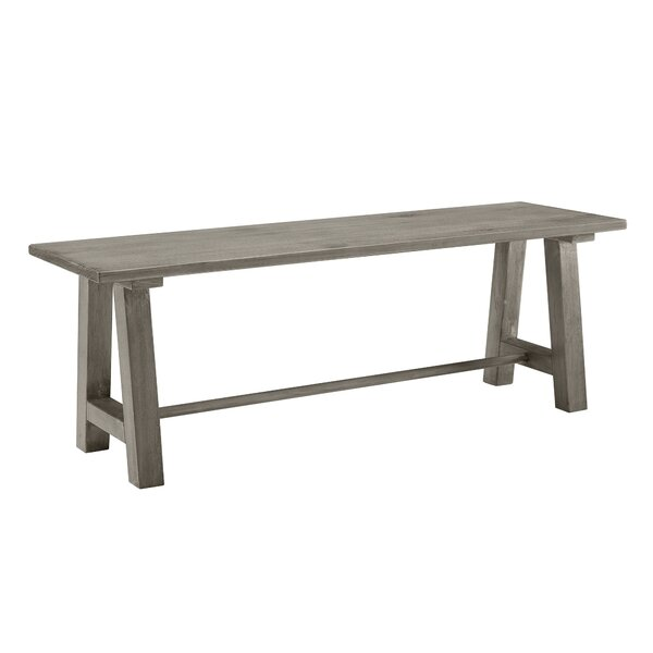 Effie Farmhouse Wood Bench By Beachcrest Home
