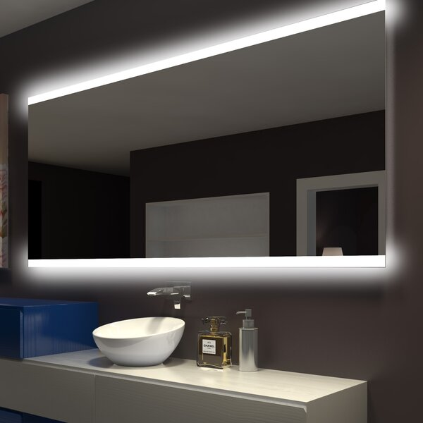 Keshwar Backlit Bathroom/Vanity Mirror