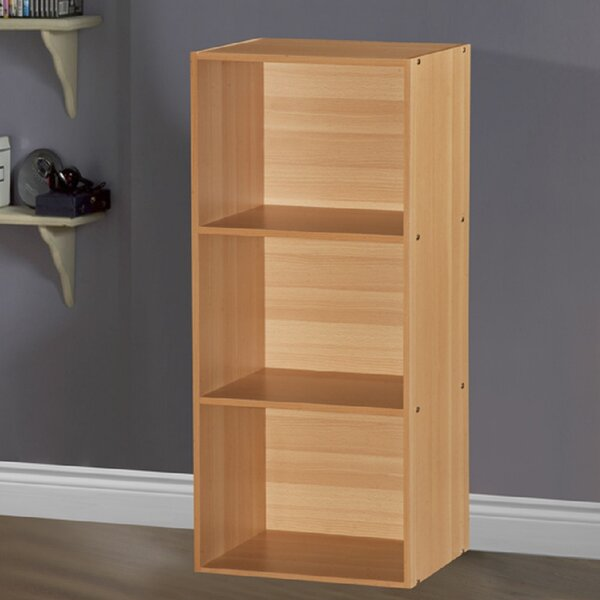 Smithville 3 Shelves Standard Bookcase by Andover