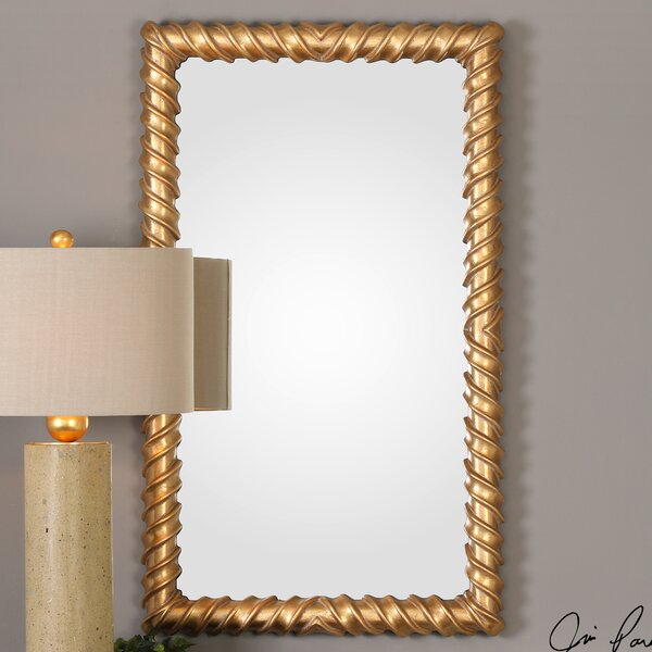 Severine Yamuna Accent Mirror by House of Hampton