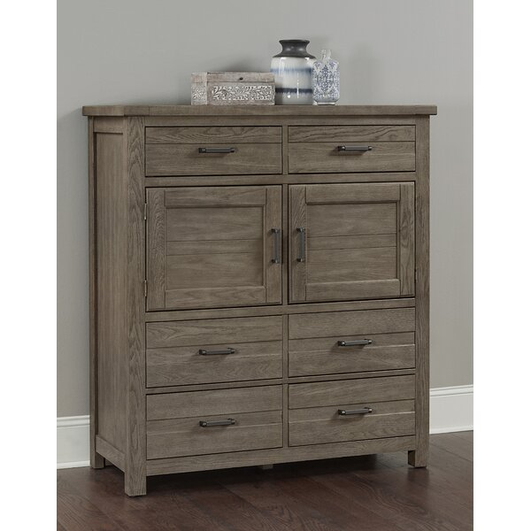 Rogowski 6 Drawer Gentlemans Chest by Canora Grey