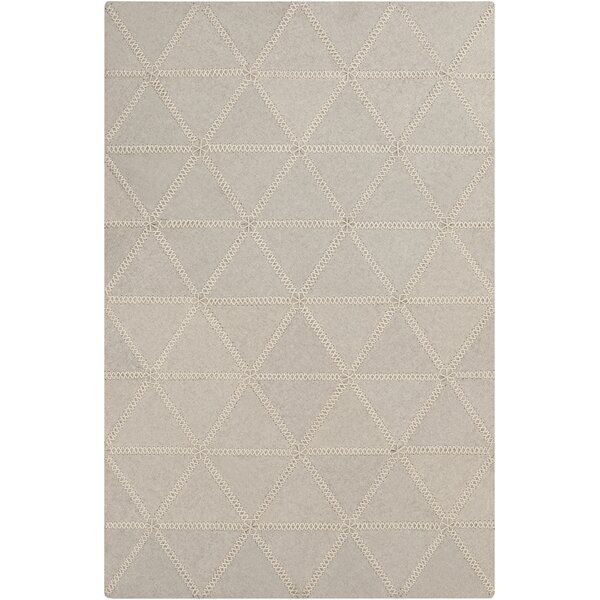 Alexander Hand Woven Wool Ivory Area Rug by Union Rustic