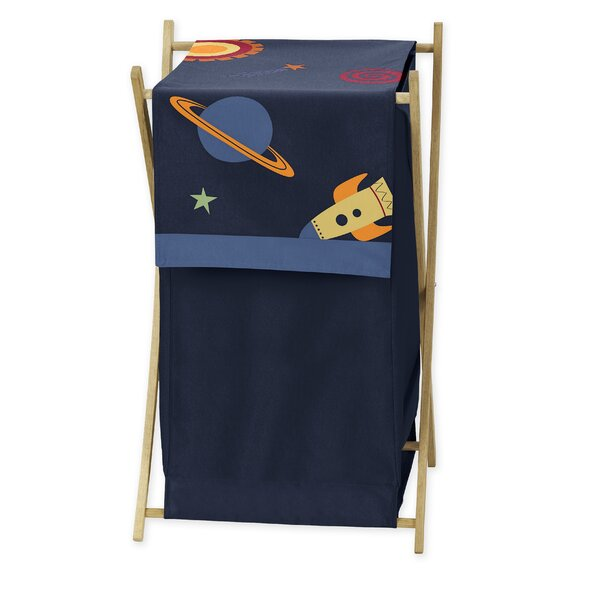 Space Galaxy Laundry Hamper by Sweet Jojo Designs