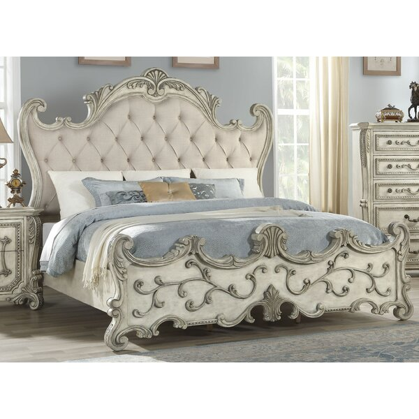 Dearborn Upholstered Standard Bed by Rosdorf Park