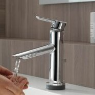 Compel Single hole Bathroom Faucet with Drain Assembly and Diamond Seal Technology