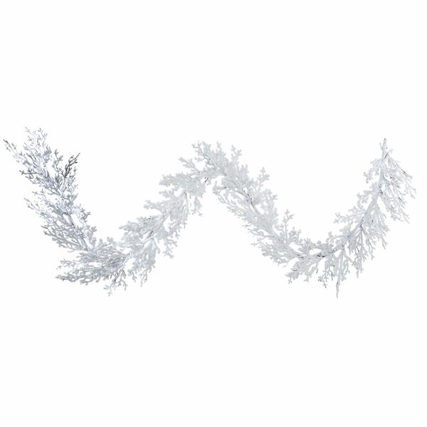 Flocked Winter Twig Artificial Christmas Garland by The Holiday Aisle