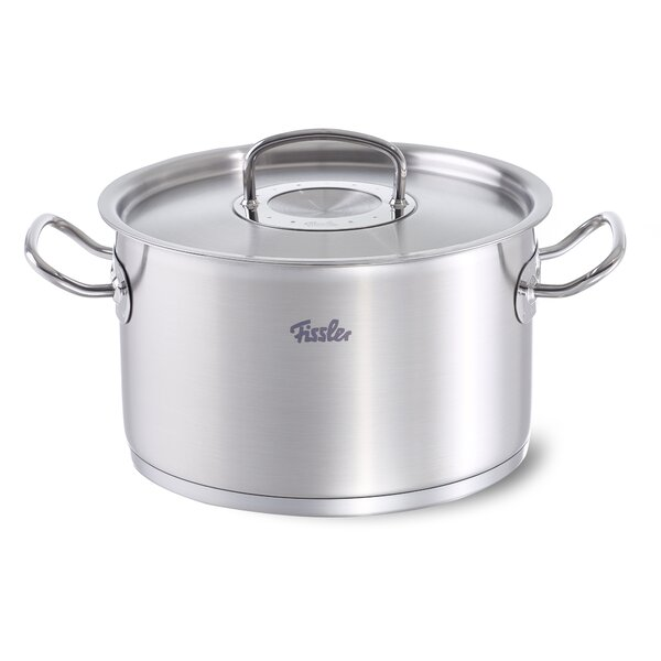 Original Profi Stock Pot with Lid by Fissler USA
