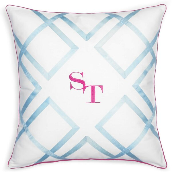 Long Bay Cotton Throw Pillow by Southern Tide