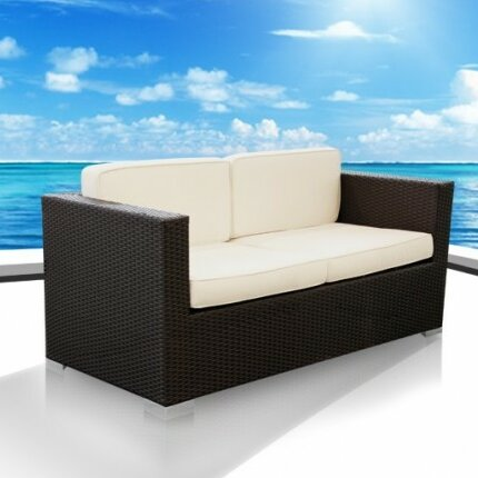 Haiken Outdoor 2 Seater Sofa by UrbanMod UrbanMod