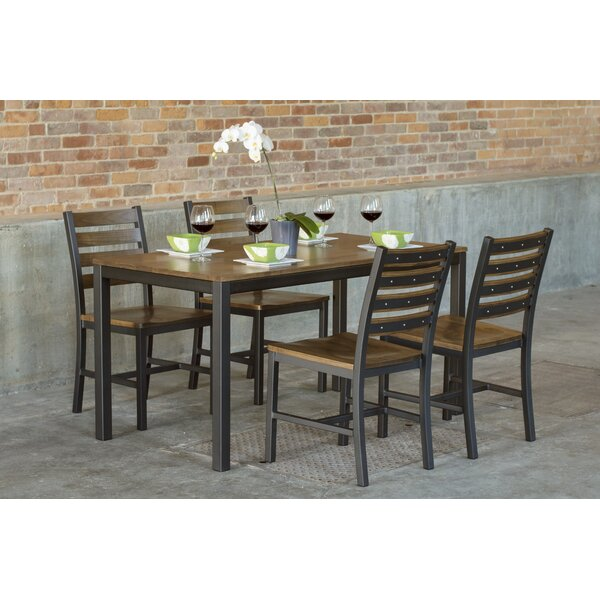 Loft 5 Piece Dining Set by Elan Furniture