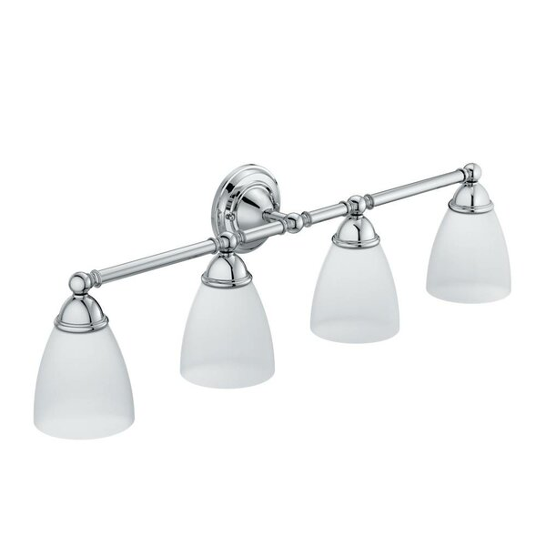 Brantford 4-Light Vanity Light by Moen
