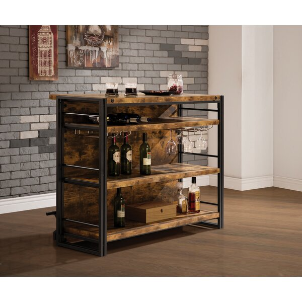 Sela Bar With Wine Storage By Foundry Select