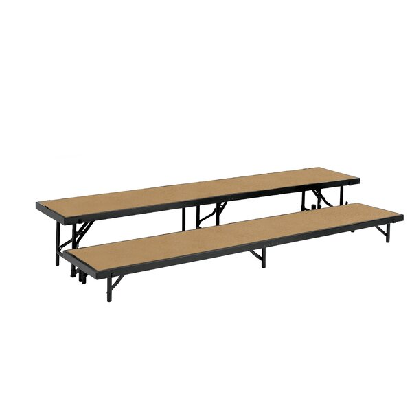 Straight Choral Riser Set in Hardboard by National Public Seating