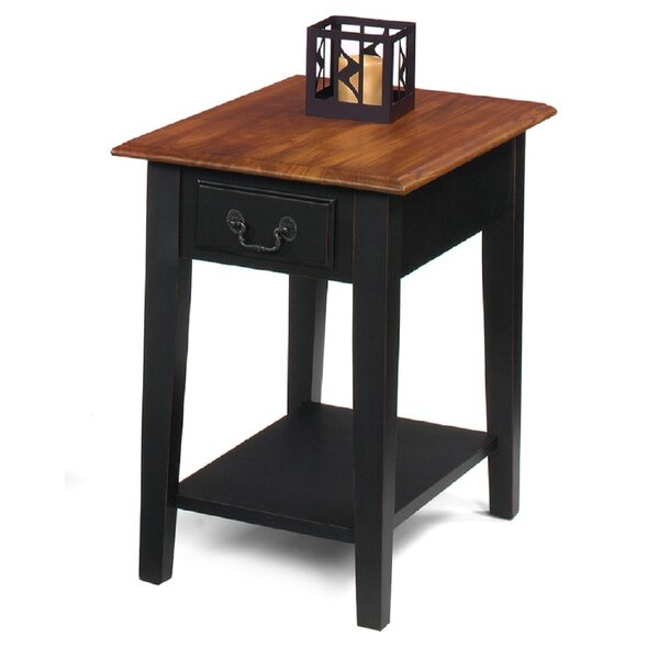 Willow Creek End Table With Storage By Red Barrel Studio