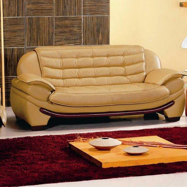 Westminster Leather Sofa by Hokku Designs