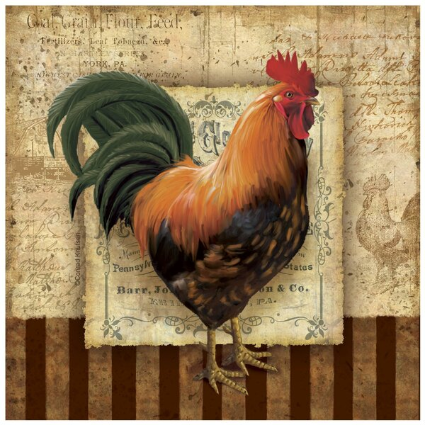 Prize Rooster I Occasions Trivet by Thirstystone