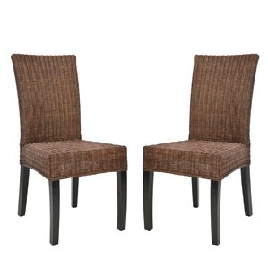 Mia Wicker Side Chair (Set Of 2)