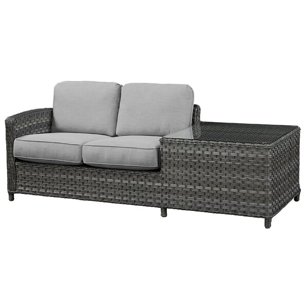 Loveseat with Cushion by Wildon Home®