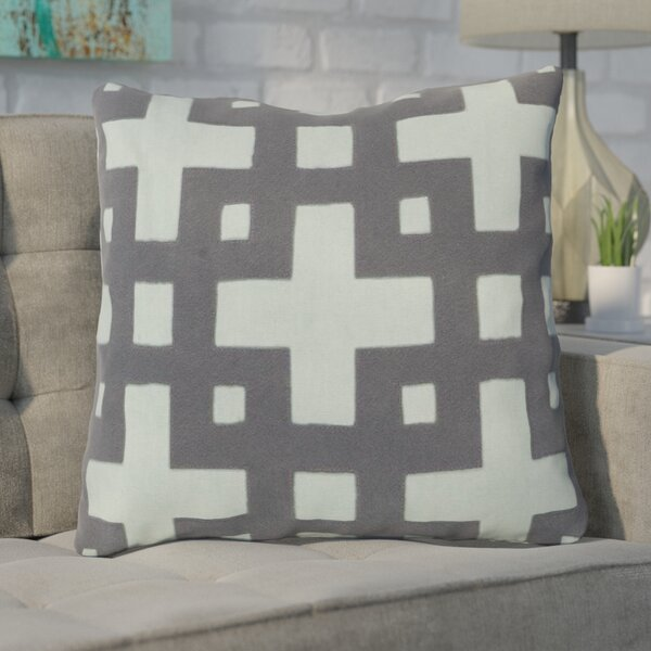 Cleanthes Cotton Throw Pillow by Mercury Row