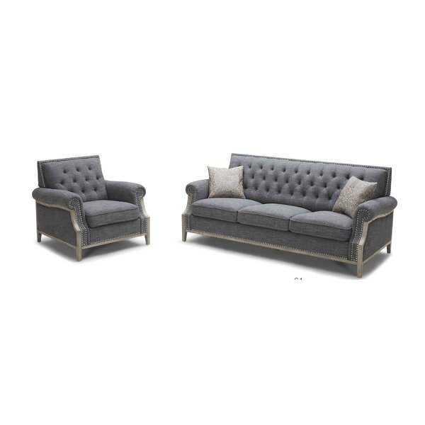 Jenner Configurable Living Room Set by House of Hampton