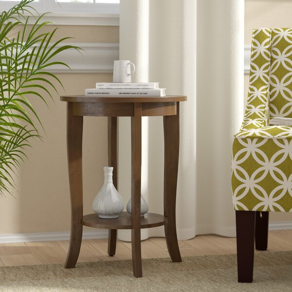 Haines End Table with Storage by Andover Mills Andover Mills