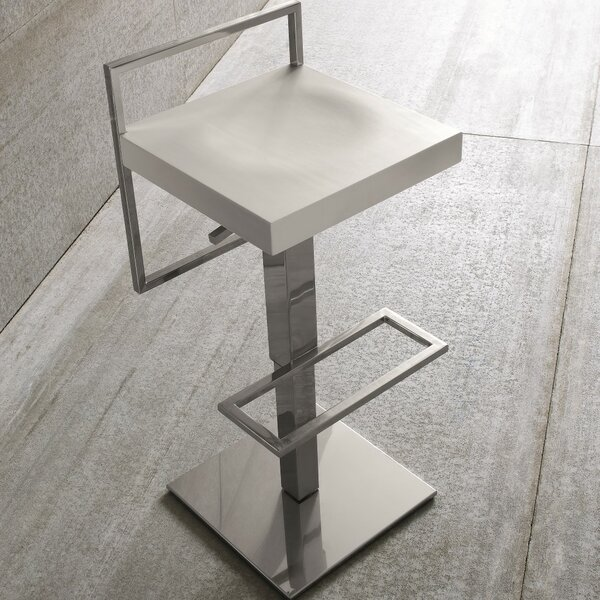 Sonar Air Adjustable Height Swivel Bar Stool by YumanMod