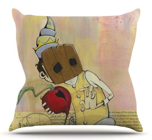 Thalamus by Matthew Reid Outdoor Throw Pillow by East Urban Home