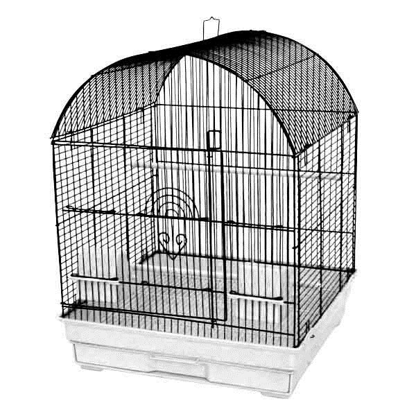 18x18 Round Top Cage by A&E Cage Co.