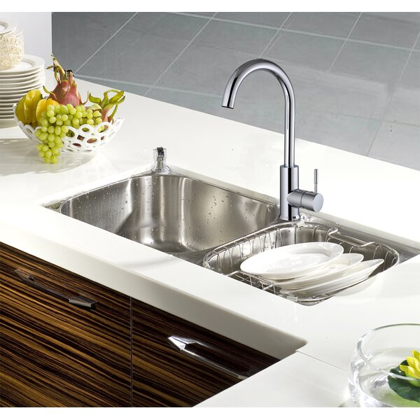 Single Handle Kitchen Faucet by Century Home Living