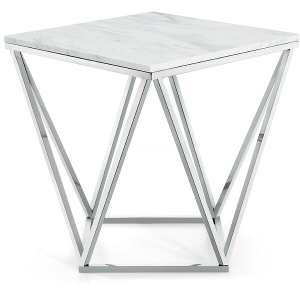Robeson Marble End Table By Willa Arlo Interiors Best #1