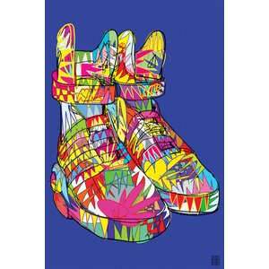 'Nike Air Mags (Marty McFly's)' Graphic Art on Wrapped Canvas by Wrought Studio