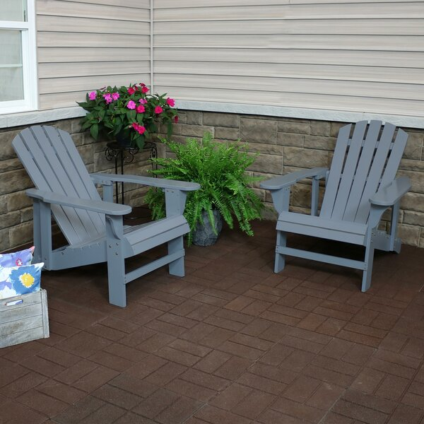 Shockley Solid Wood Adirondack Chair (Set of 2) by Breakwater Bay Breakwater Bay