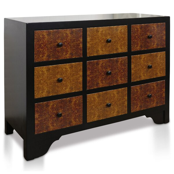 Magalia 9 Drawer Apothecary Accent chest