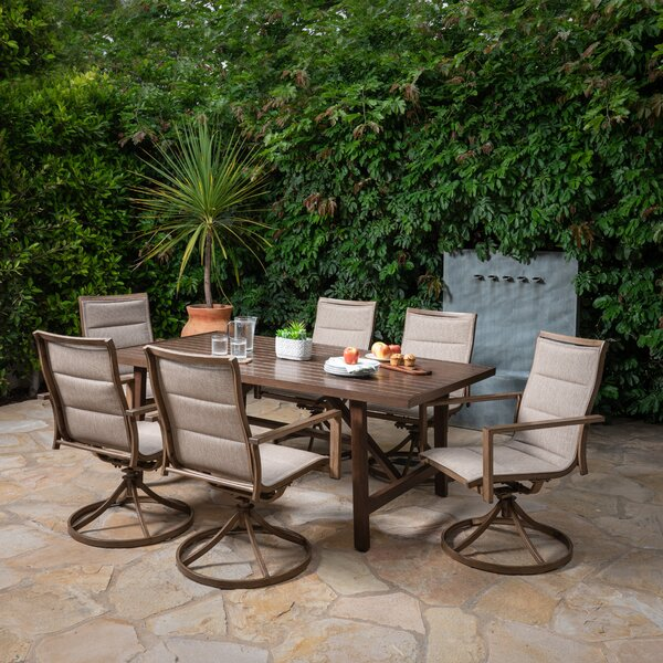 Dominquez 7 Piece Dining Set by Darby Home Co