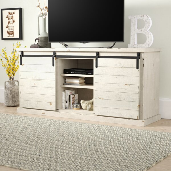Laursen Solid Wood TV Stand For TVs Up To 75