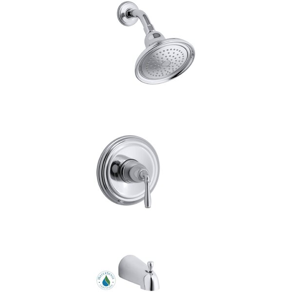 Devonshire Rite-Temp Pressure-Balancing Bath and Shower Faucet Trim, Valve Not Included by Kohler