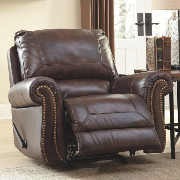 Baxter Springs Manual Rocker Recliner by Darby Home Co