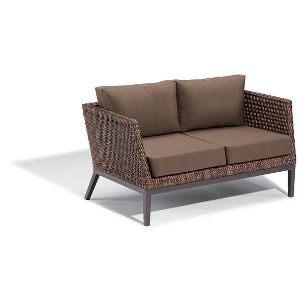 Cammack Woven Loveseat with Cushions by George Oliver