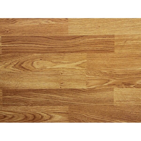7 x 48 x 8mm Oak Laminate Flooring by Chic Rugz