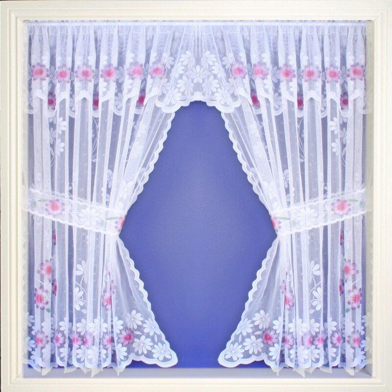 tyrone textiles gardinen set primrose. Black Bedroom Furniture Sets. Home Design Ideas