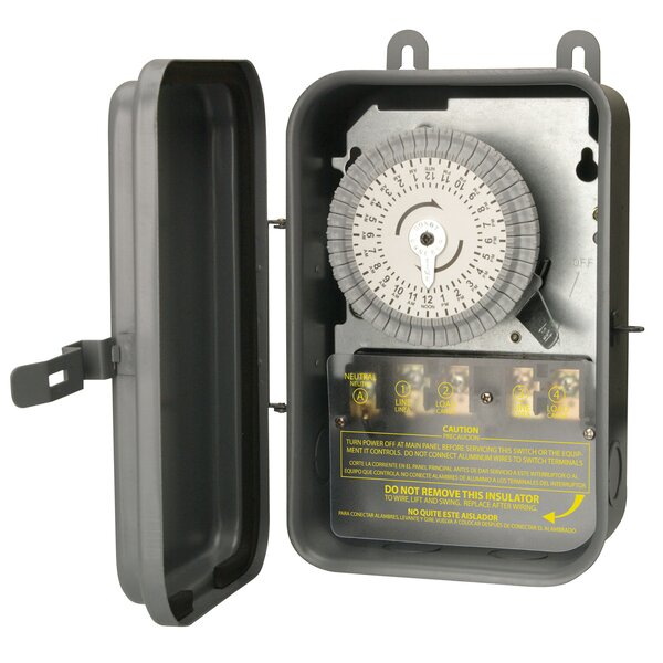 40A Outdoor Waterproof Timer by Coleman Cable