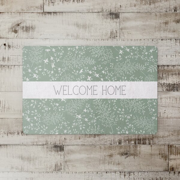 Somersall Welcome Home Botanicals Kitchen Mat