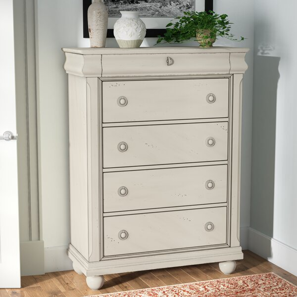 Warlick 5 Drawer Chest by Charlton Home