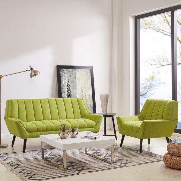 Elaina 2 Piece Standard Living Room Set by George Oliver