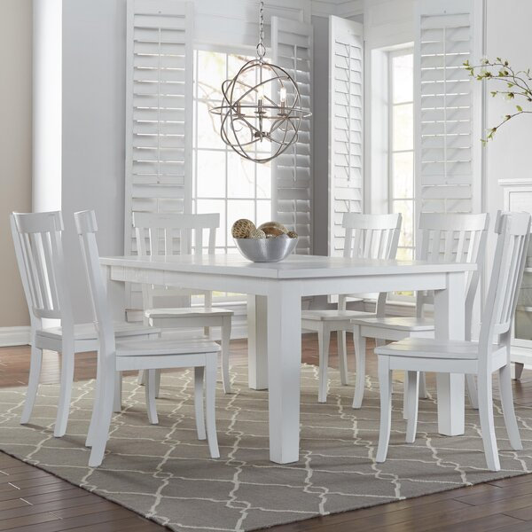 Zeinab 7 Piece Dining Set by Beachcrest Home