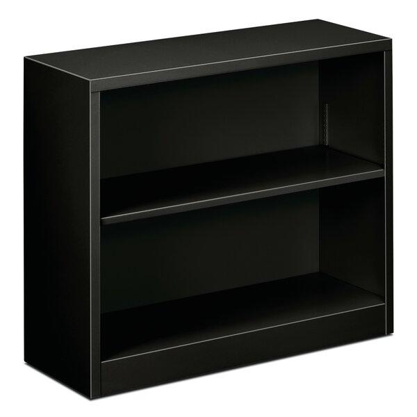 Sohn Steel 2-Shelf Standard Bookcase By Winston Porter