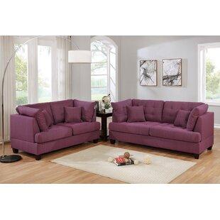 Ingalls 2 Piece Living Room Set by Wade Logan®