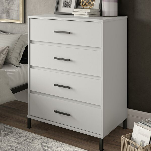 Julian 4 Drawer Chest by Modern Rustic Interiors
